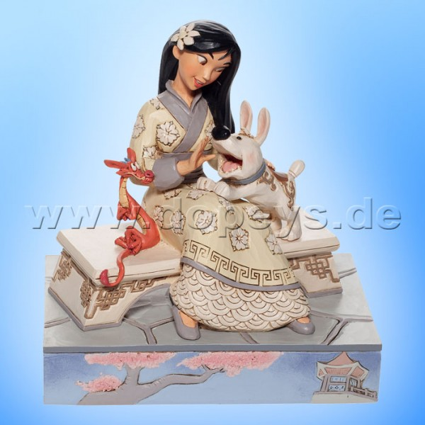Honorable Heroine (Mulan White Woodland) Figur von Disney Traditions / Jim Shore - Enesco 6007061