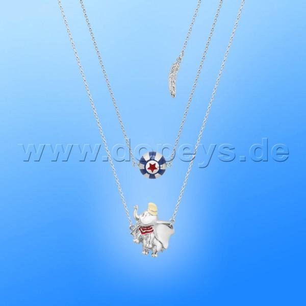 Disney Halskette - Zirkus Ball (Dumbo) in Weißgold von Couture Kingdom 12101261