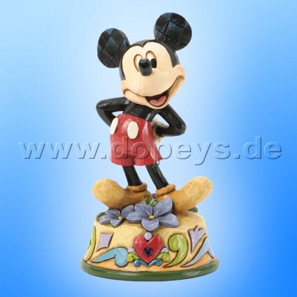 "Disney Traditions / Jim Shore Figur von Enesco ""Februar (Mickey Maus)"" 4033959."