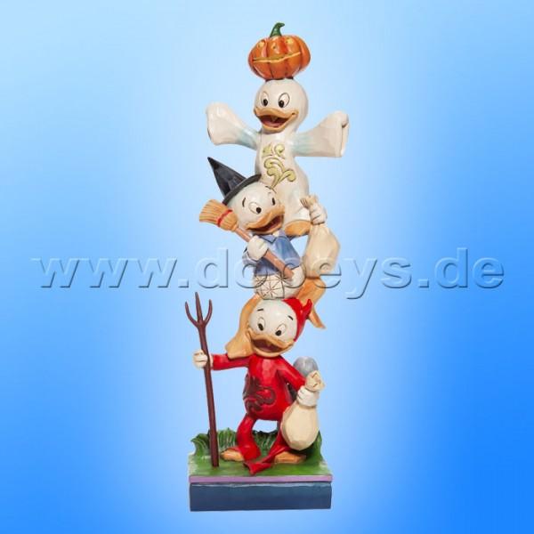 Disney Traditions - Teetering Trick-or-Treaters (Tick, Trick & Track Halloween Stapelturm) von Jim Shore 6007079