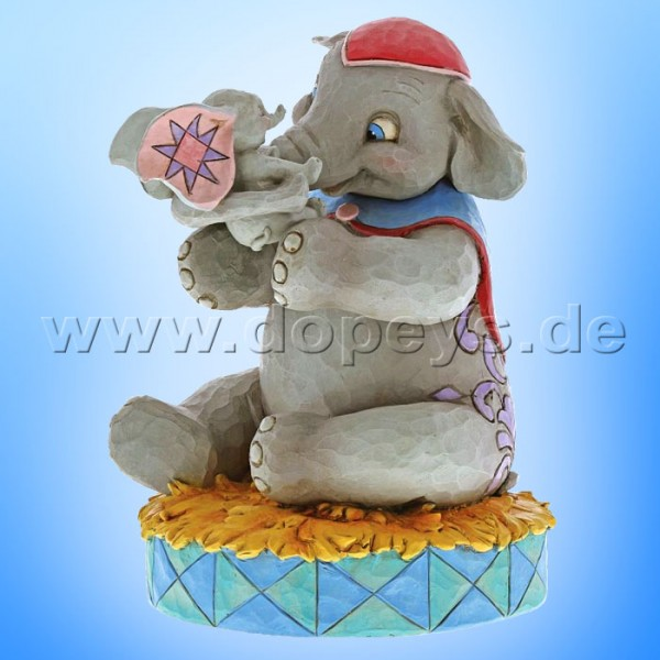 "Disney Traditions / Jim Shore Figur von Enesco ""A Mother's Unconditional Love (Mrs. Jumbo und Dumbo)"" 6000973"