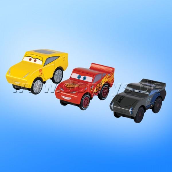 Disney Pixar Cars 3 Set - Piston Cup von Kidkraft (Lightning McQueen, Cruz Ramirez & Jackson Storm) 17214