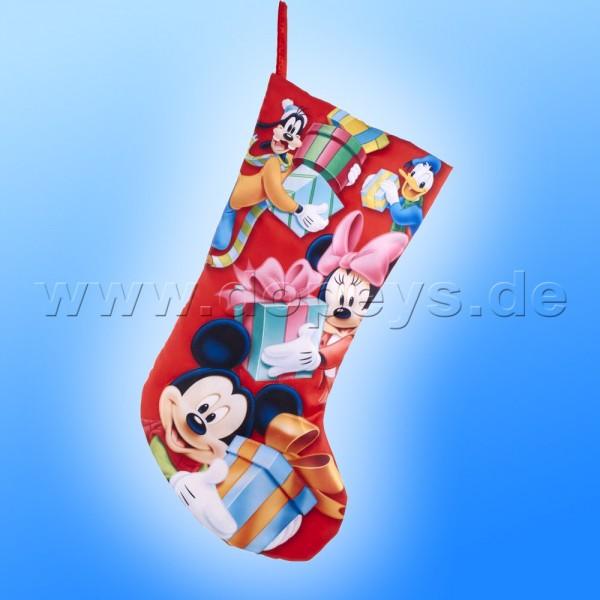 """Kurt S. Adler - Disney Weihnachtsstrumpf """"Mickey & Freunde mit Weihnachtsgeschenk"""" DN7194"""