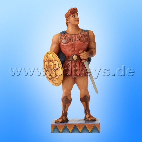 "Disney Traditions / Jim Shore Figur von Enesco ""Mythic Hero (Herkules 20 Jahre Jubiläumsfigur)"" 4055406."