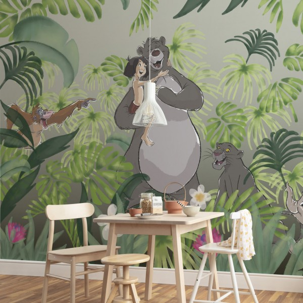 "Disney Vlies Fototapete Das Dschungelbuch ""Welcome To the Jungle"""
