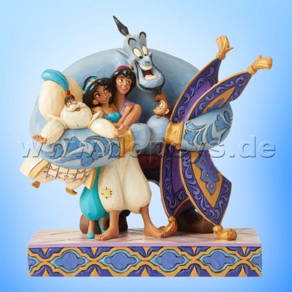 Group Hug! (Dschinni, Jasmin, Aladdin & Abu) Figur von Disney Traditions / Jim Shore - Enesco 6005967