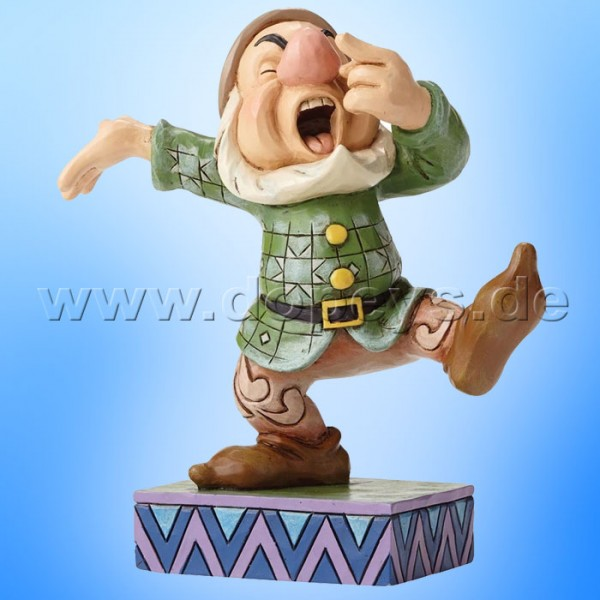 "Disney Traditions / Jim Shore Figur von Enesco. ""Sneezy Sway (Hatschi)"" 4049630."