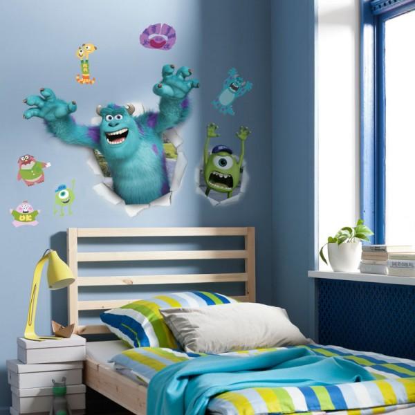"Disney Wandsticker / Wandaufkleber ""Monster University"""