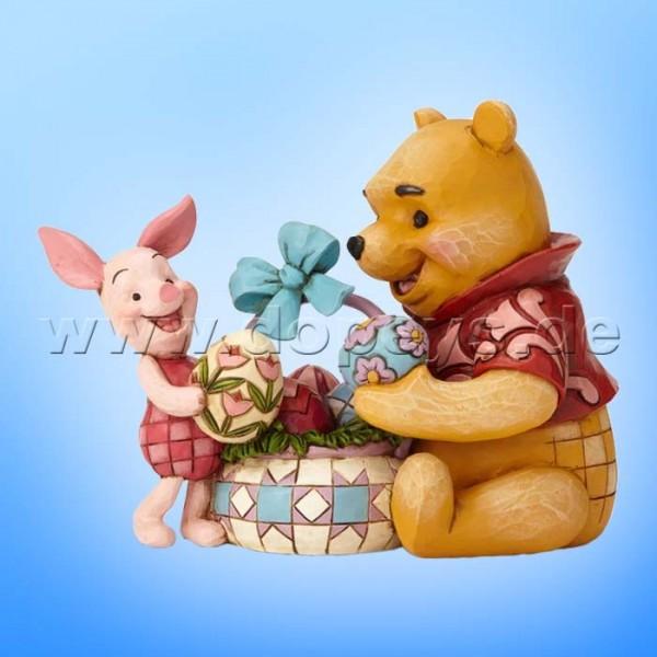 Spring Surprise (Winnie Puuh und Ferkel feiern Ostern) Figur von Disney Traditions / Jim Shore - Enesco 6002844