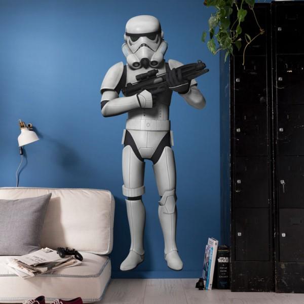 "Star Wars Wandsticker / Wandaufkleber ""Stormtrooper"""