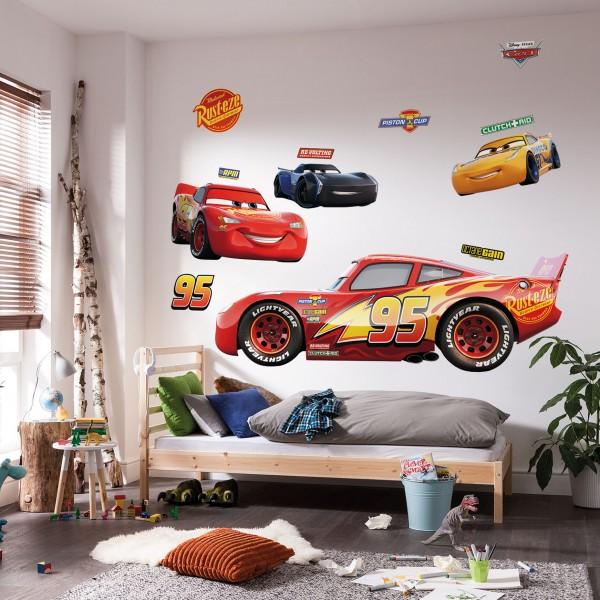 "Disney Vlies Fototapete selbstklebend Cars ""Cars XXL"" 127cm x 200cm"