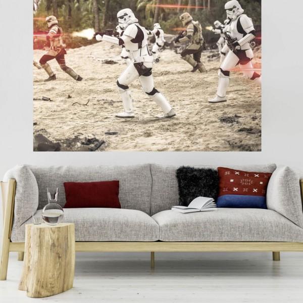 "Star Wars Vlies Fototapete ""Star Wars Imperial Strike"" 2,00m x 1,50m"