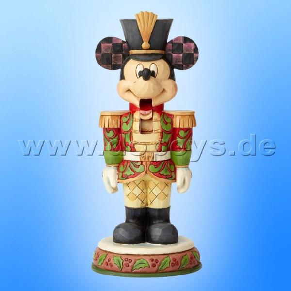 "Disney Traditions / Jim Shore Figur von Enesco ""Stalwart Soldier (Mickey Maus Nussknacker)"" 6000946"