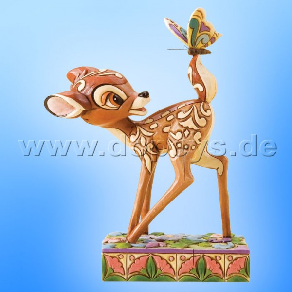 "Disney Traditions / Jim Shore Figur von Enesco. ""Wonder of Spring (Bambi)"" 4010026."