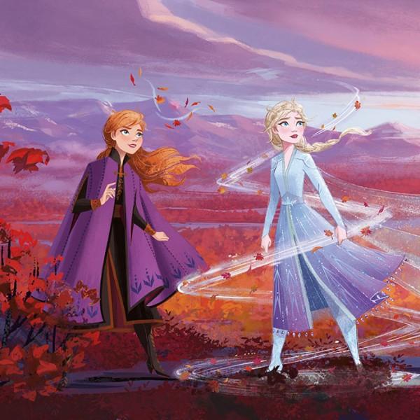 """Disney Fototapete Die Eiskönigin """"Frozen Panorama"""""""