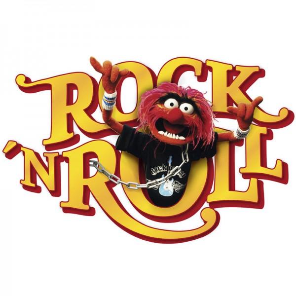 """Disney Wandsticker / Wandaufkleber Muppets """"Tier Rock'n'Roll"""""""