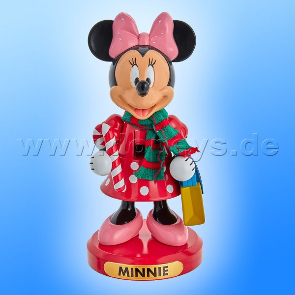 """Kurt S. Adler - Disney Nussknacker """"Minnie Maus"""" mit Zuckerstange DN6212L"""