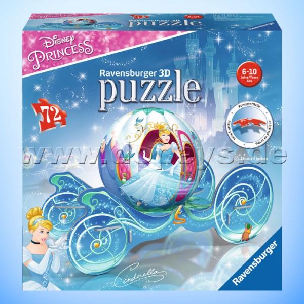 """Disney 3D Puzzle """"Cinderella Kutsche"""" von Ravensburger 11823"""
