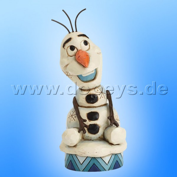 "Disney Traditions / Jim Shore Figur von Enesco. ""Silly Snowman (Olaf)"" 4039083."