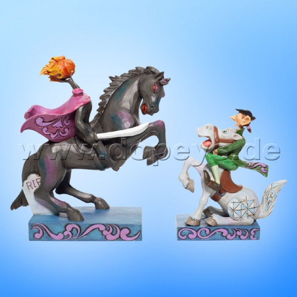 Disney Traditions - Heads Up, Ichabod! (Der kopflose Reiter & Ichabod) von Jim Shore 6007059