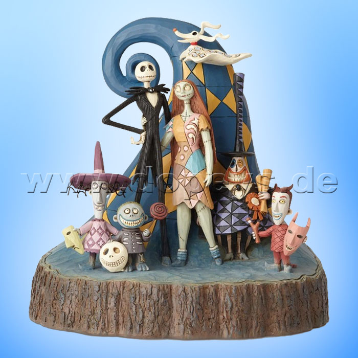 """Nightmare Before Christmas /""""Once Upon A Nightmare/"""" Storybook Figure By Jim Shore"""