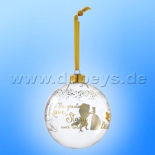 Disney Enchanting Collection - Die Schöne und das Biest Hochzeits-Weihnachtsbaumkugel A29529