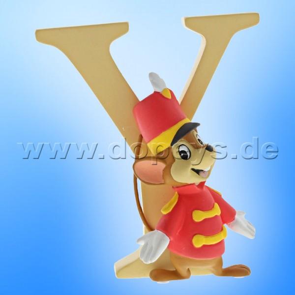 "Enchanting Disney Collection - Buchstabe ""Y"" - Timothy Q Maus Figur von Enesco A29570"