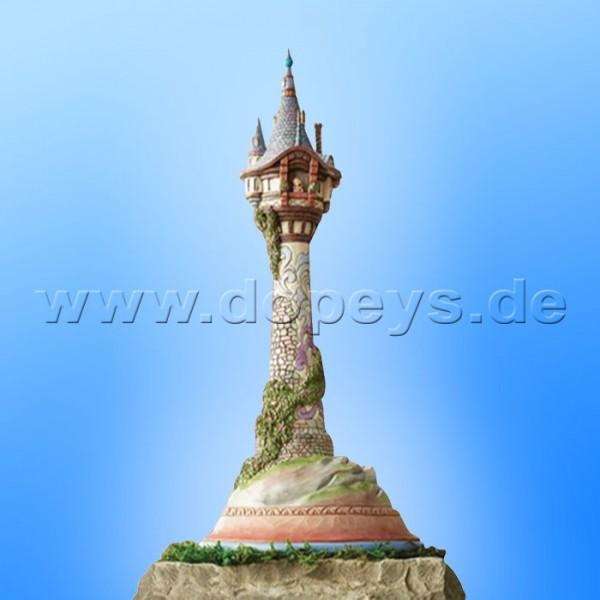 Disney Traditions - Dreaming of Lights (Rapunzels Turm Meisterstück) sehr groß von Jim Shore 6008998