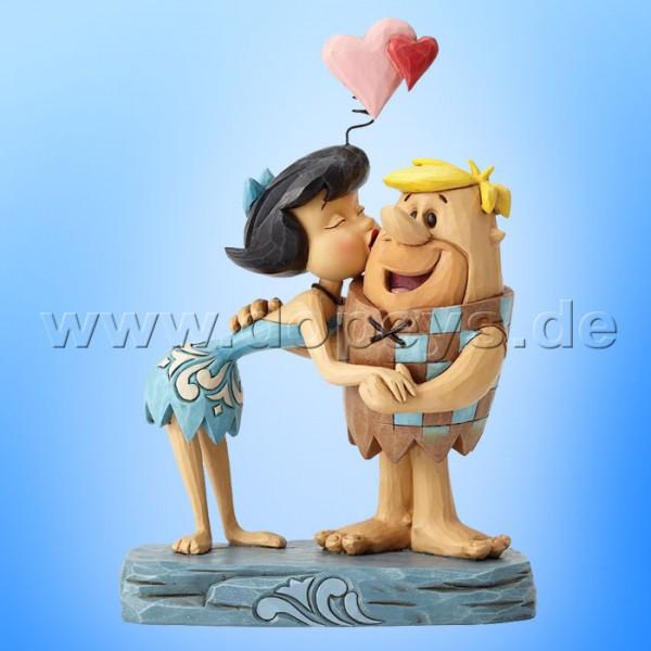 "The Flintstones / Jim Shore Figur von Enesco ""Rubble Romance (Betty & Barney Geröllheimer)"" 4051595."