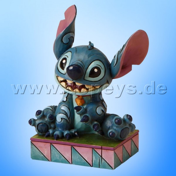 "Disney Traditions / Jim Shore Figur von Enesco. ""Ohana Means Family (Stitch)"" 4016555."