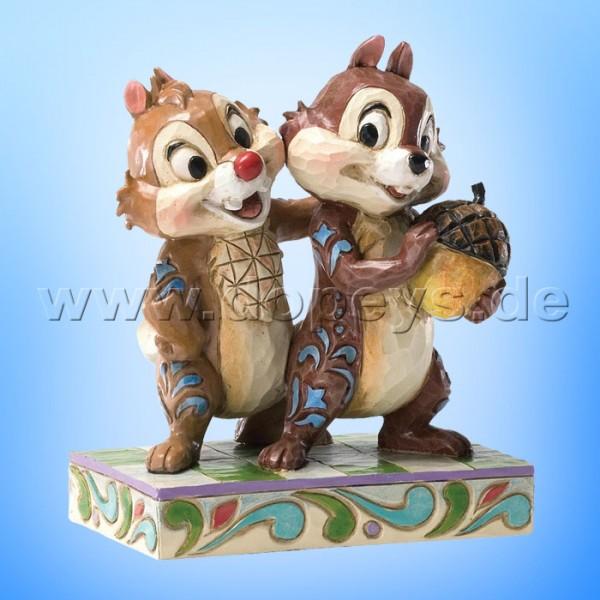 "Disney Traditions / Jim Shore Figur von Enesco. ""Nutty Buddies (Chip & Chap)"" 4031475."