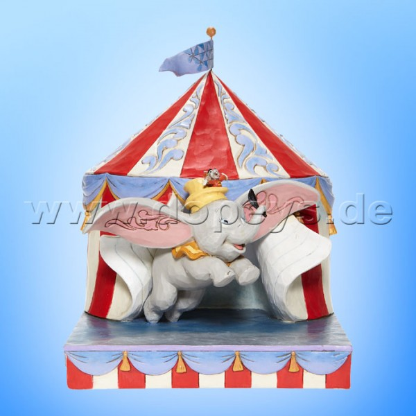 Disney Traditions - Over the Big Top (Dumbo fliegt aus dem Zelt) von Jim Shore 6008064