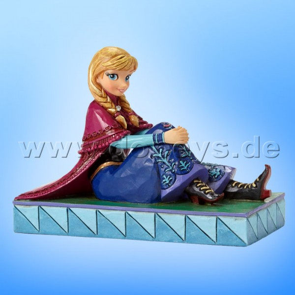"Disney Traditions / Jim Shore Figur von Enesco. ""Be Daring (Anna)"" 4050407."