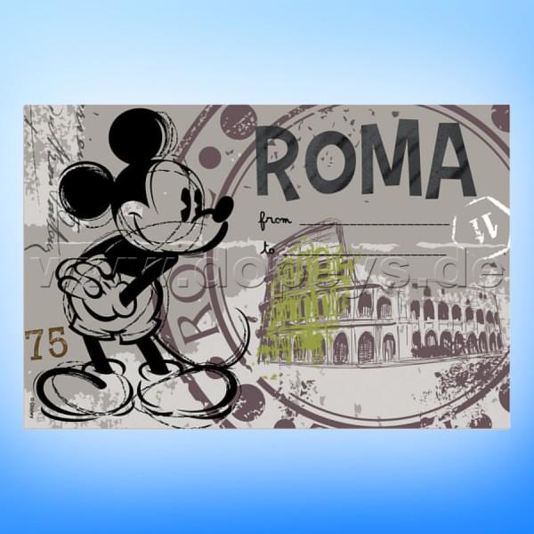 """Disney Platzdeckchen / Unterlage Mickey Maus """"Rom"""" im italienischen Design"""