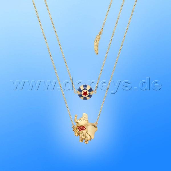 Disney Halskette - Zirkus Ball (Dumbo) in Gold von Couture Kingdom 12101271