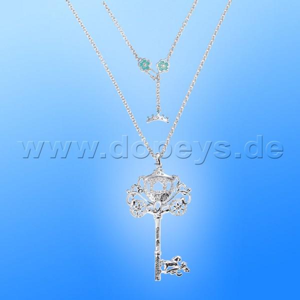 Disney Halskette - Schlüssel (Cinderella) in Weißgold von Couture Kingdom 12100591