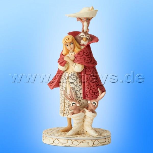 Playful Pantomime (Aurora als Dornröschen White Woodland) Figur von Disney Traditions / Jim Shore - Enesco 6002337