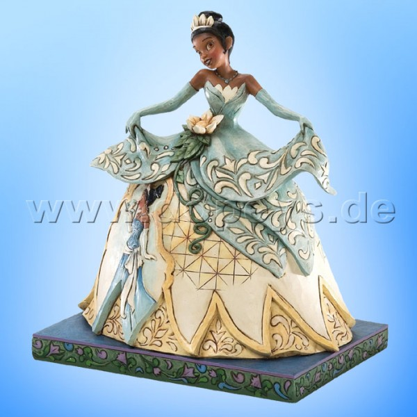 "Disney Traditions / Jim Shore Figur von Enesco. ""Dreams Do Come True (Tiana)"" 4026081."