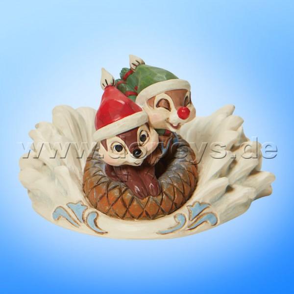 Disney Traditions - Fun in the Snow (Chip & Chap beim Rodeln) von Jim Shore 6008975
