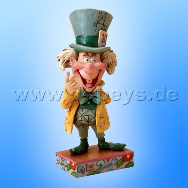 """Disney Traditions / Jim Shore Figur von Enesco.""""Mad Cap Mayhem (Der Hutmacher)"""" 4023529."""