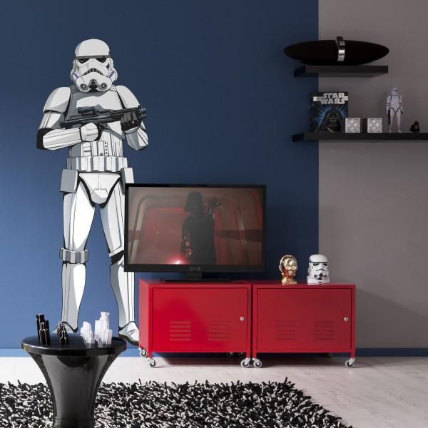 "Star Wars Vlies Fototapete selbstklebend ""Star Wars XXL Stormtrooper"" 127cm x 188cm"