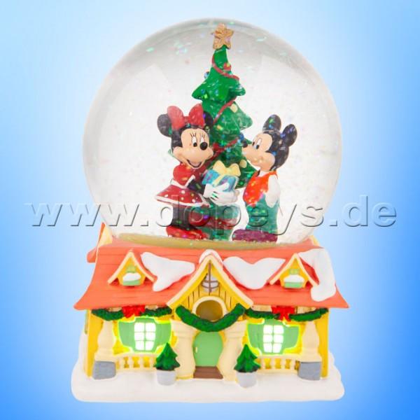 Disney Christmas - Mickey & Minnie Schneekugel (beleuchtet) von Department 56 6007135