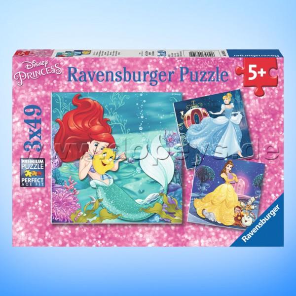 """Disney Puzzles """"Abenteuer der Prinzessinnen"""" von Ravensburger 09350"""