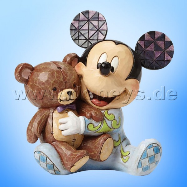 "Disney Traditions / Jim Shore Figur von Enesco.""Pyjama Pals (Baby's erste Mickey Maus)"" 4046060."