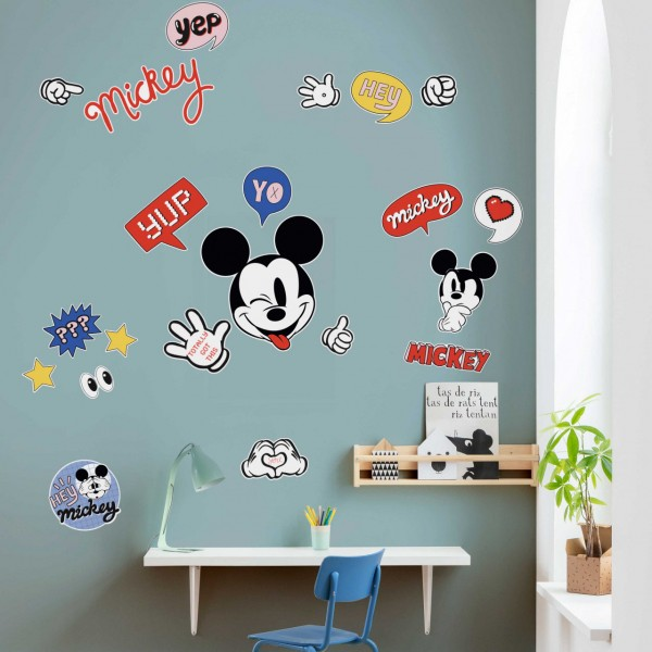 "Disney Wandsticker / Wandaufkleber Mickey Maus ""It's a Mickey Thing"" 50cm x 70cm"