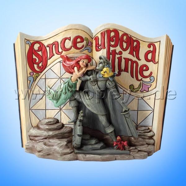 "Disney Traditions / Jim Shore Figur von Enesco ""Undersea Dreaming (Arielle die Meerjungfrau Märchenbuch)"" 4031484."