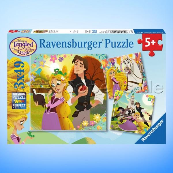 "Disney Puzzles Rapunzel ""Zauberhaftes Haar"" von Ravensburger 08024"