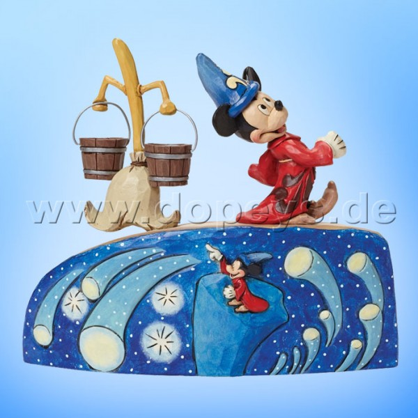 "Disney Traditions / Jim Shore Figur von Enesco ""Summoning the Stars (Fantasia 75 Jahre Jubiläumsfigur)"" 4043653."