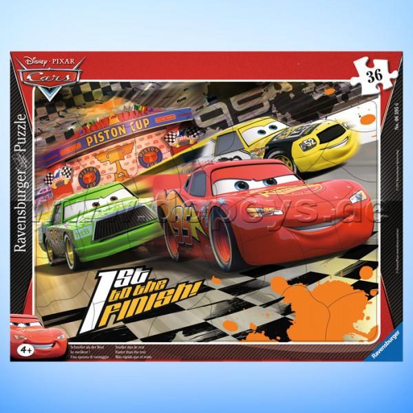 """Disney Puzzle Cars """"Schneller als der Rest"""" von Ravensburger 06395"""