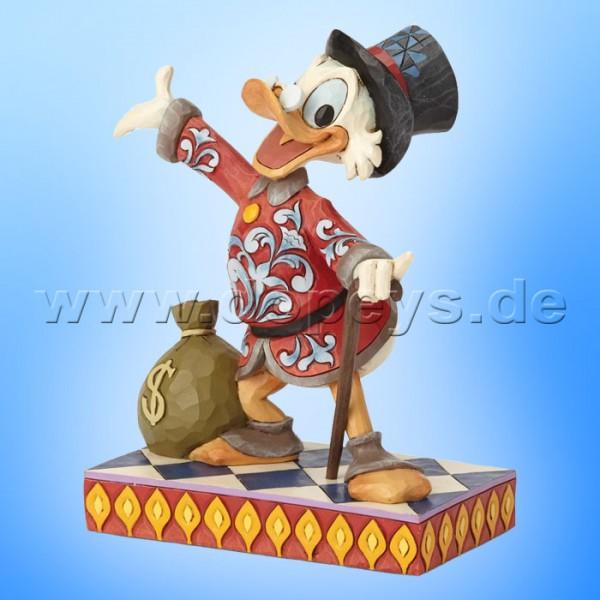 Treasure Seeking Tycoon (Dagobert Duck) Figur von Disney Traditions / Jim Shore - Enesco 6001285
